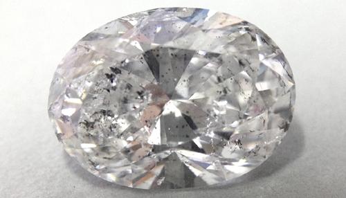 Included diamond