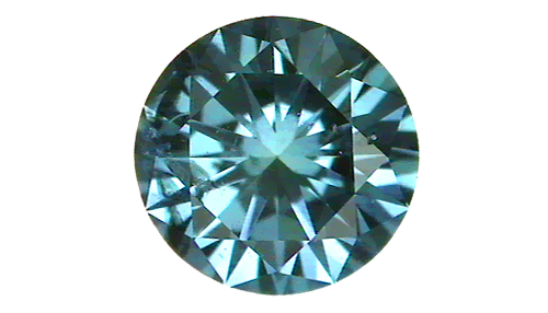 Irradiated diamond