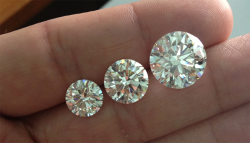 Laboratory grown diamonds are indistinguishable from their natural counterparts without the use of advanced instrumentation