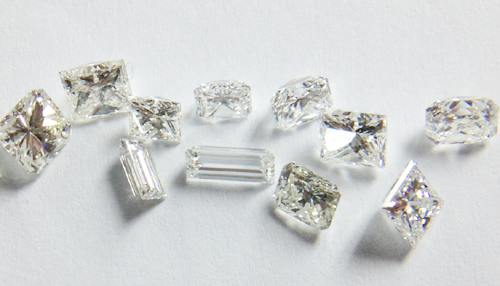 Parcel of diamonds
