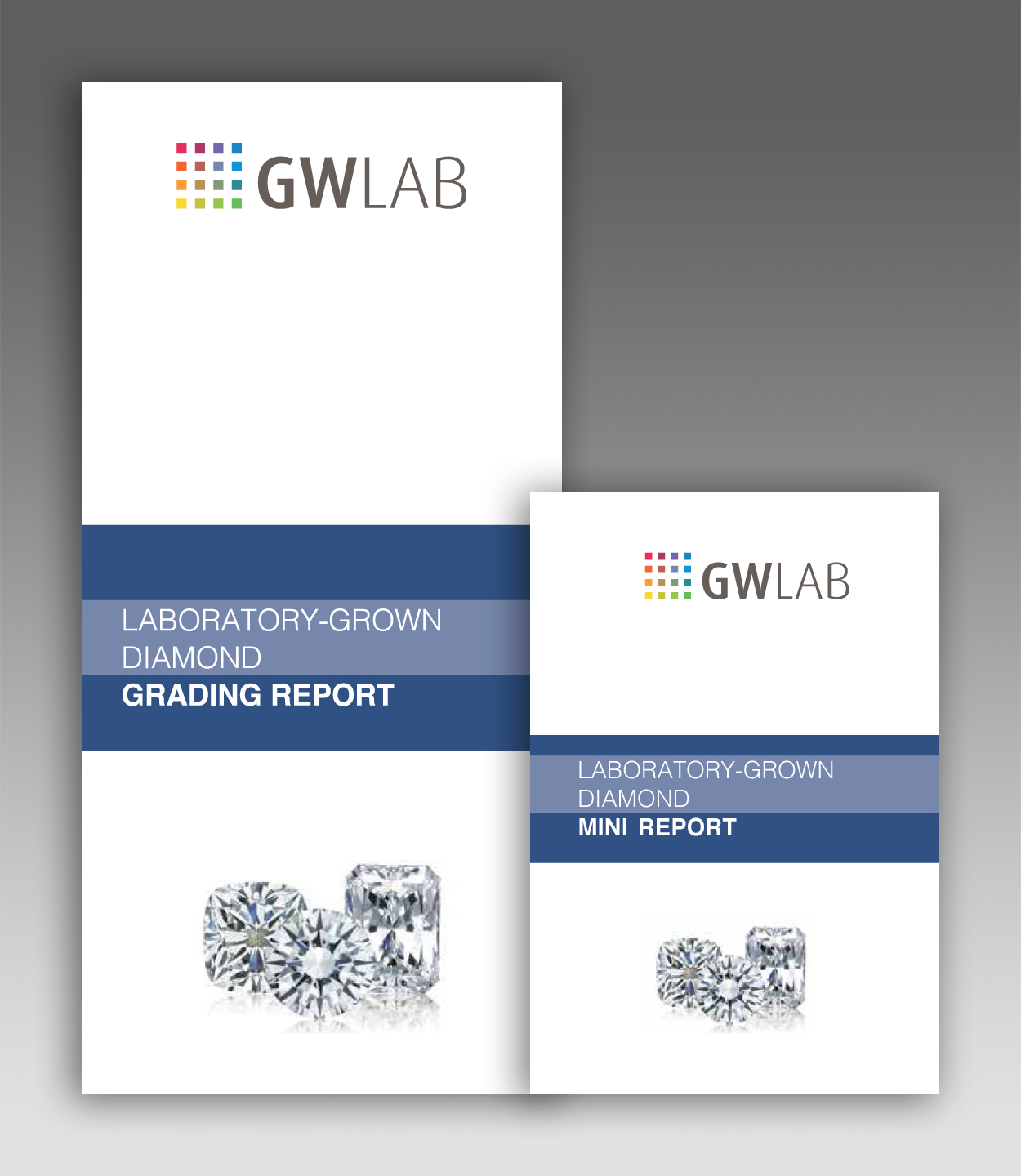 GWLAB Laboratory-Grown Diamond Grading Report - Outer Cover