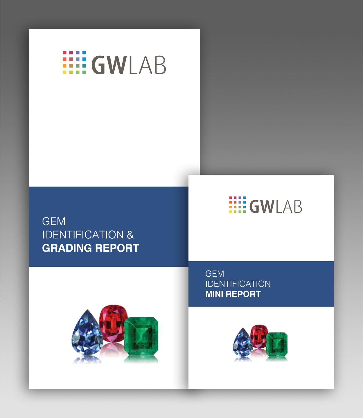 GWLAB Gem Identification And Grading Report - Outer Cover